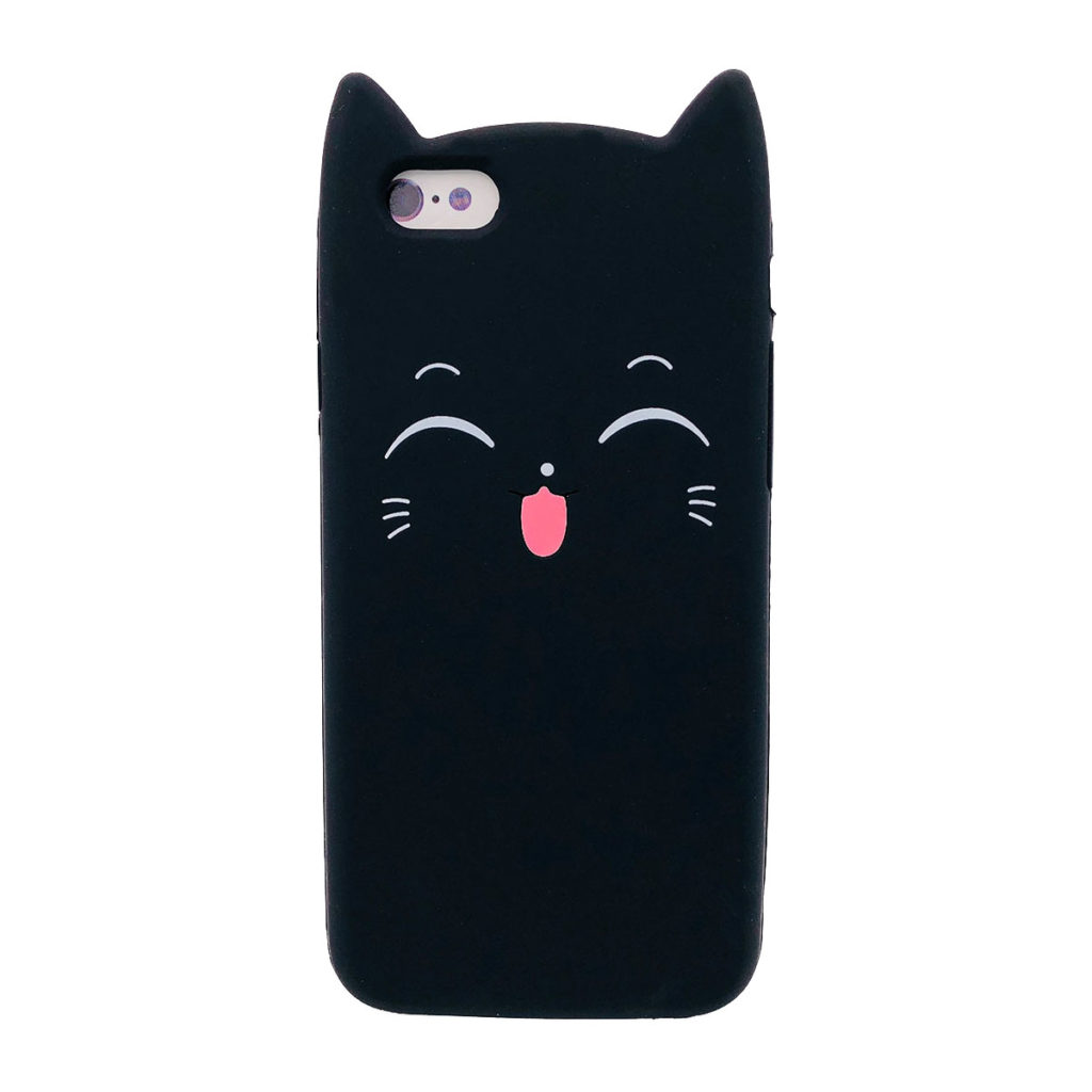 COQUE IPHONE 6/6S CHAT 3D