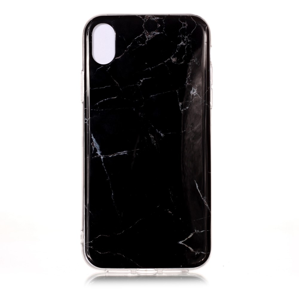 coque iphone xr marbre noir