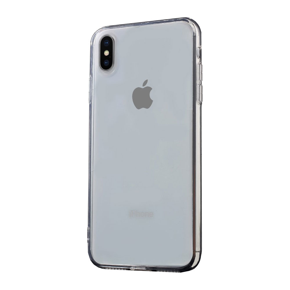 coque iphone xs max transparente noir