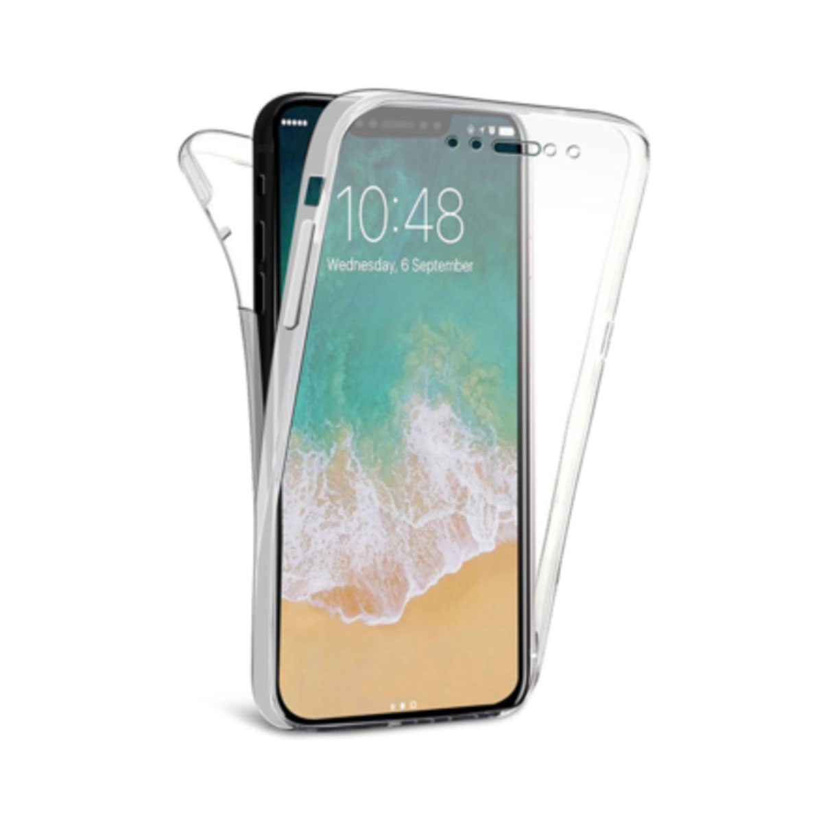 coque iphone xs max double face