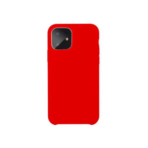 COQUE IPHONE 11 PRO SILICONE COLOR ROUGE