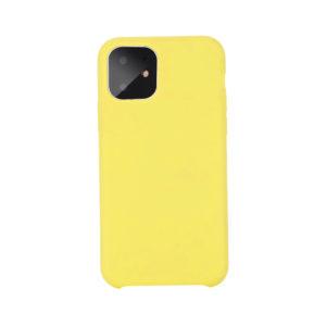 COQUE silicone JAUNE POUR APPLE IPHONE 11 PRO MAX EN VENTE CHEZ www.flapcase.com