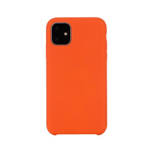 COQUE silicone ORANGE VIF POUR APPLE IPHONE 11 PRO MAX EN VENTE CHEZ www.flapcase.com