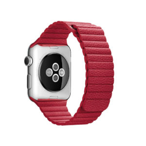 BRACELET APPLE WATCH 38MM / 40MM CUIR MAGNETIQUE