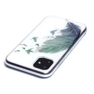 coque iPhone 11 plume oiseaux