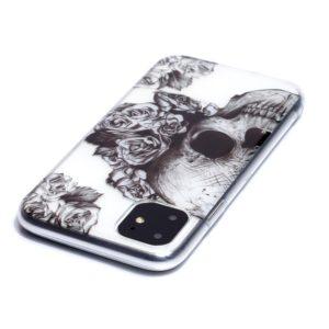 Coque iPhone 11 Tête de mort