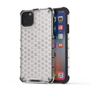 Coque iPhone 11 TPU + Silicone hybride amortisseur nid d'abeilles