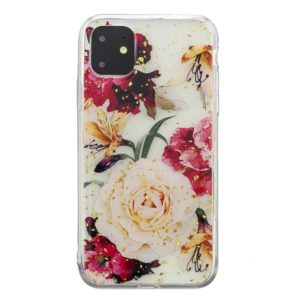 Coque iPhone 11 Roses & or