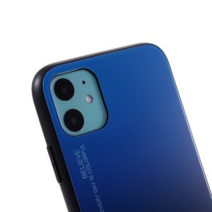 Coque iPhone 11 silicone dos verre Trempé