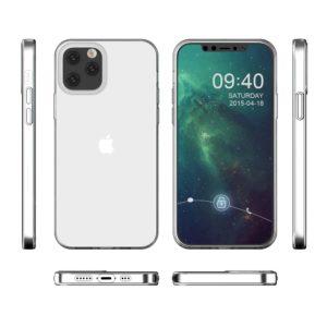 Coque Iphone 12 PRO silicone transparente