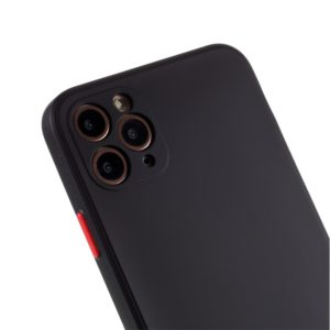 Coque iPhone 12 PRO MAX silicone Noire