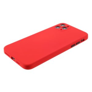 Coque iPhone 12 PRO silicone Rouge
