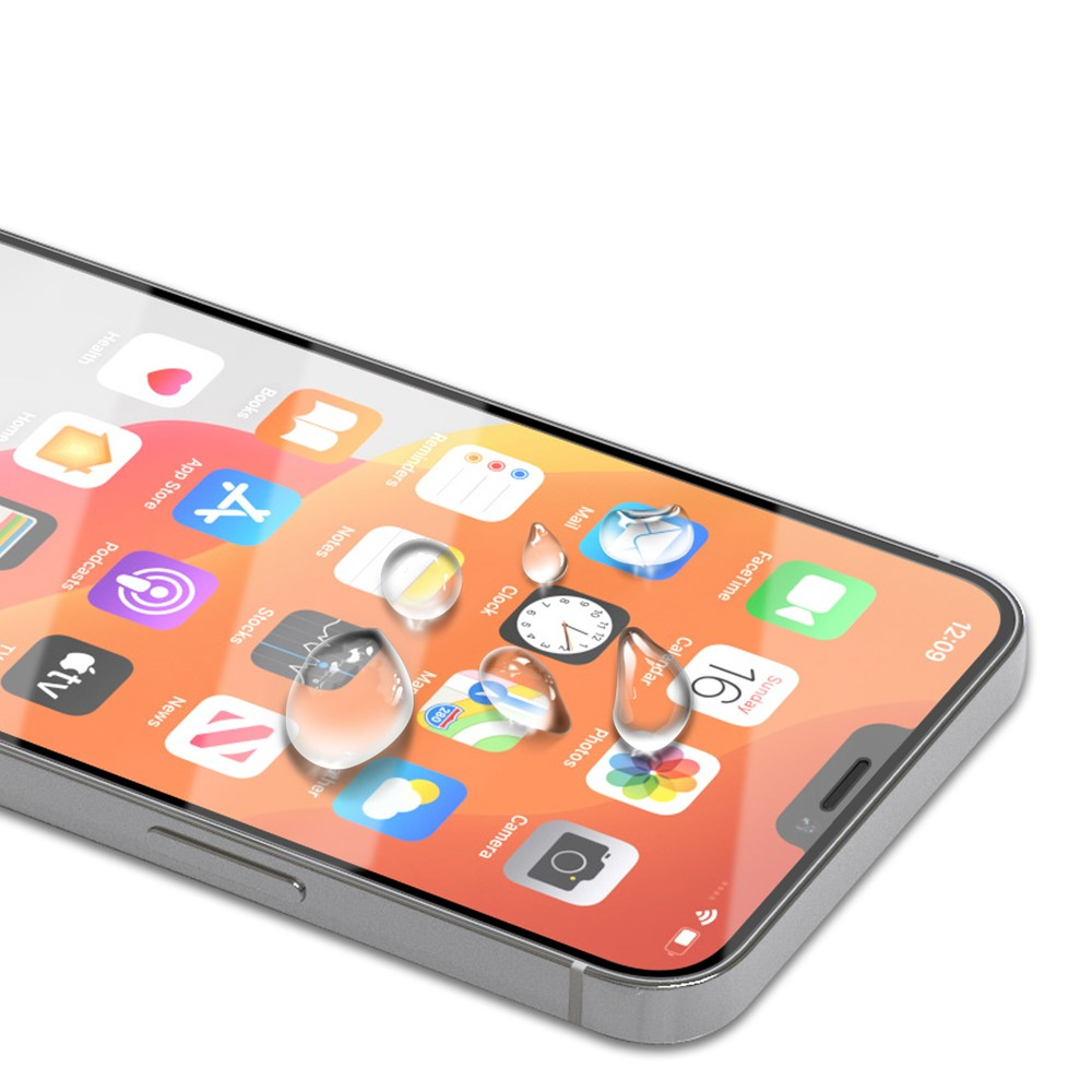 Protection d'écran verre trempé intégrale iPhone 12
