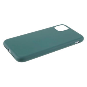 COQUE IPHONE 12 SILICONE COLOR VERT SAPIN
