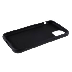 COQUE IPHONE 12 SILICONE COLOR NOIR