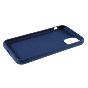 COQUE IPHONE 12 SILICONE COLOR BLEU COLBAT