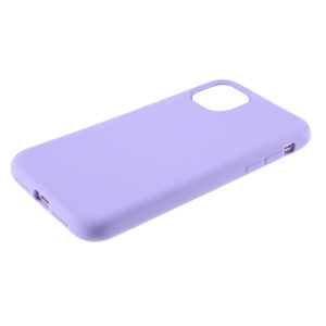 COQUE IPHONE 12 SILICONE COLOR VIOLET