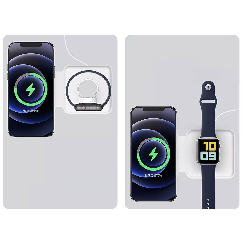 CHARGEUR INDUCTION IPHONE ET APPLE WATCH